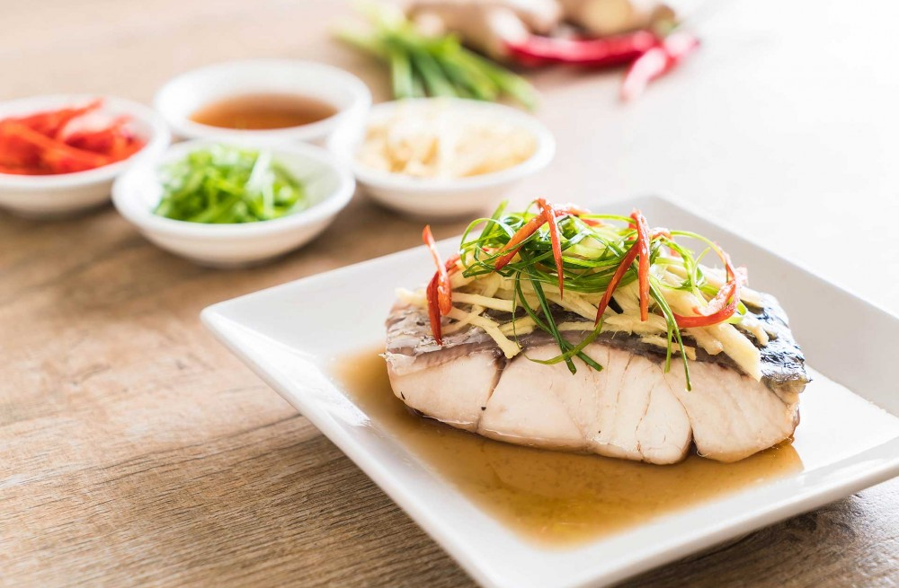 Threadfin Fish With Ginger Recipe